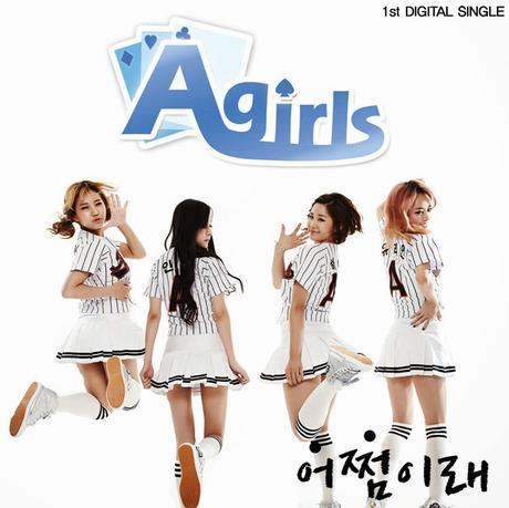 Agirls (에이걸스) : Groupe Féminin