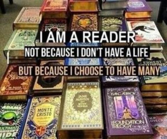 Je lis parce que...