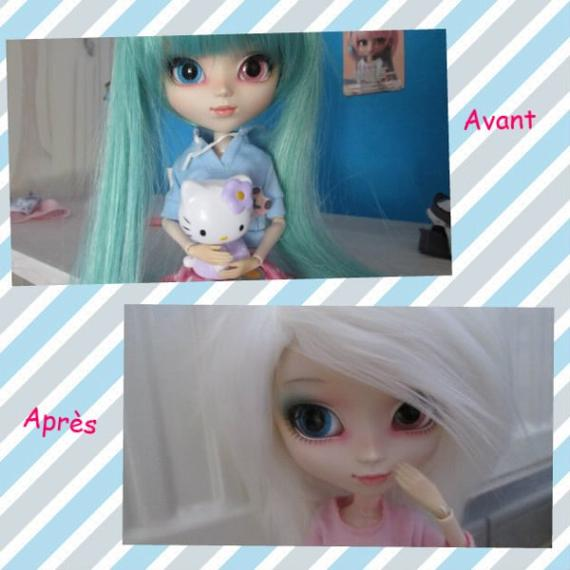 Devines quoi ? J'ai reçu la wig de ma doll !!!! Et, j'ai aussi des choses à te montrer... viens avec moi !