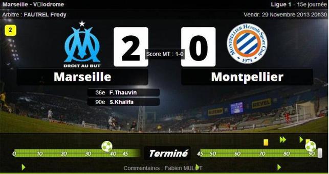 • Marseille enchaîne, Montpellier inquiète !