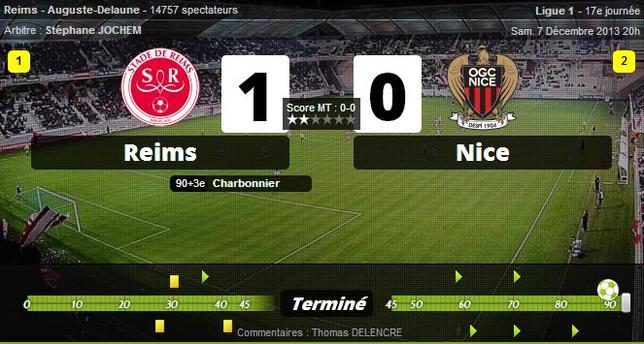 • Lorient ne s'arrête plus, Nice craque encore, Valenciennes ne sait plus gagner !