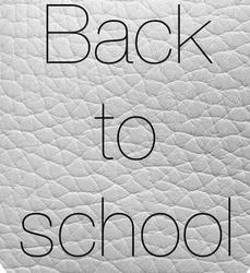 《BACK TO SCHOOL / IDEES DE TENUES》