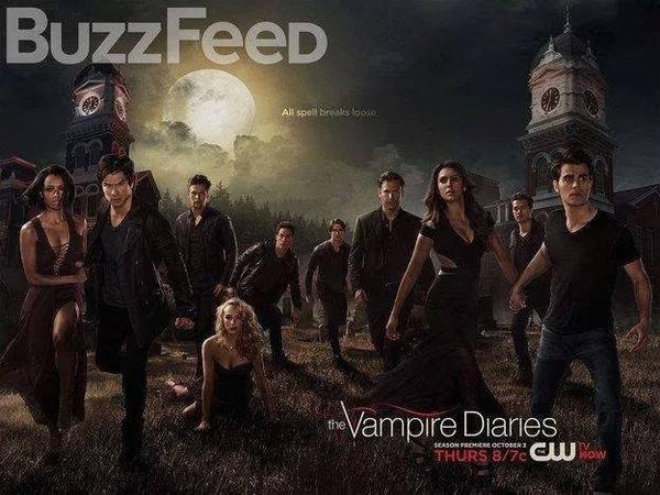 Poster de the vampire diaries saison 6