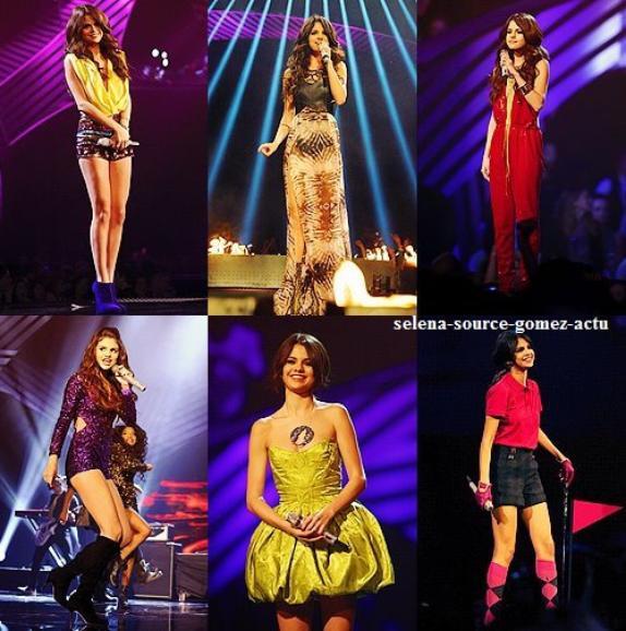 Selena Gomez au  EMA's 2011 hier le 6 novembre