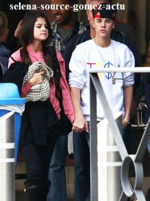 Selena Gomez et Justin Bieber à Paris le 8/11/2011 + à Madrid le 11/11/2011