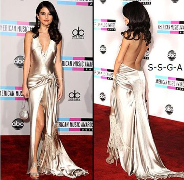 Selena Gomez et Justin Bieber : American Music Awards 2011
