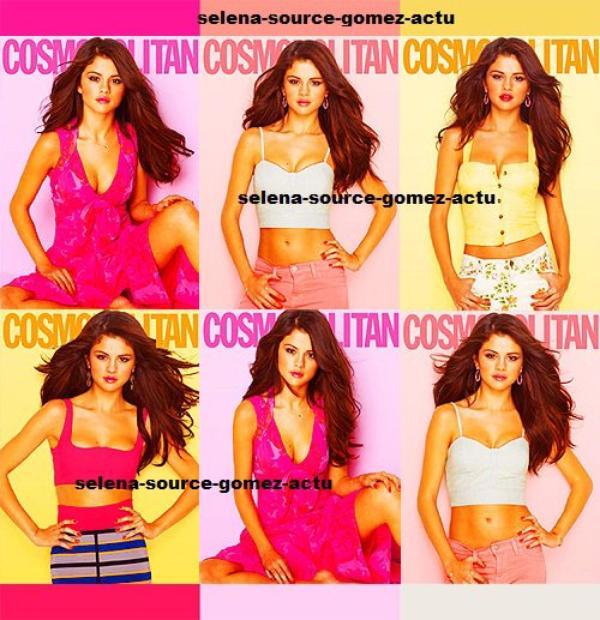 Un nouveau photoshoot pour le magazine Cosmopolitan que Selena a récemment réalisé vient de faire surface sur la toile. Pour le moment, je vous propose quelques aperçus en espérant me le procurer très rapidement. Selena est incroyable, n'est-ce pas ? :)