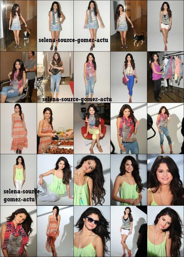 je vous propose de retrouver de magnifique photos de Selena qui posait pour « Dream Out Loud » le 15 Novembre dernier.