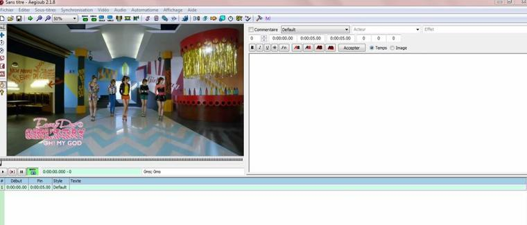Apprendre a Timer avec Aegisub en Image. ♥