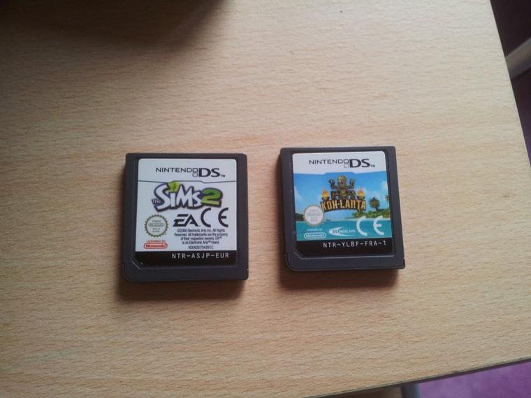 Lot de 2 jeux de DS