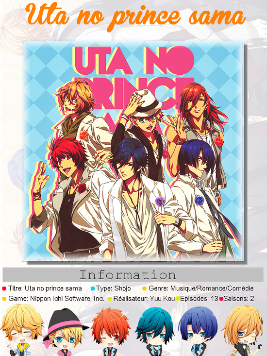 ►  Uta no prince sama