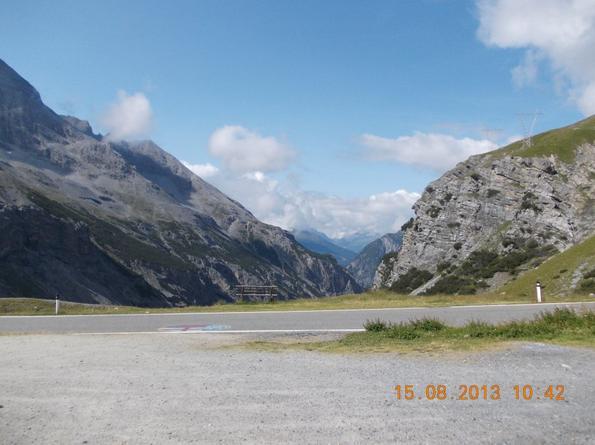 Passo dello Stelvio -mountain pass-