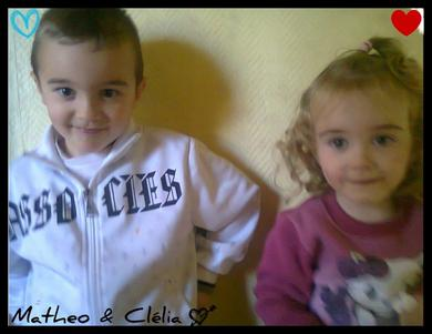 Mathéo & Célia ♥.