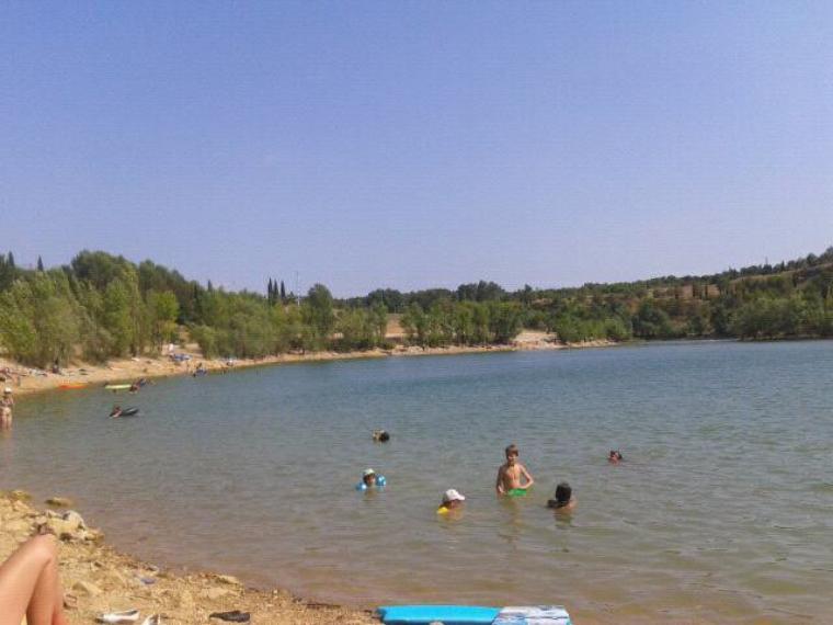 Aprem au lac du cres