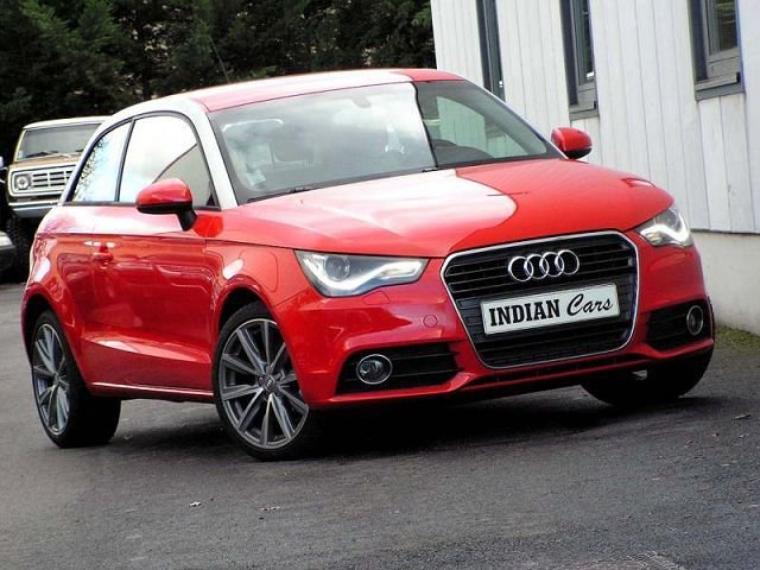 Audi A1 rouge Ambition