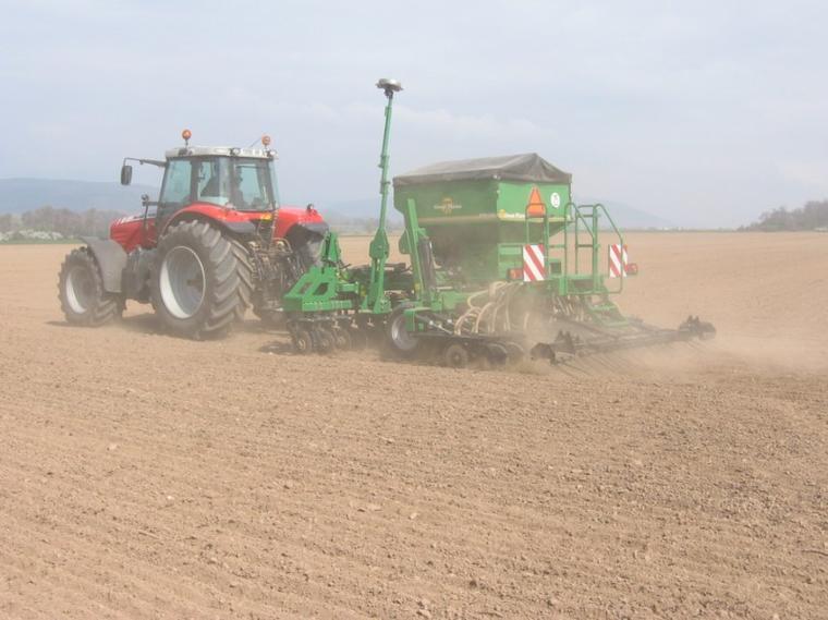 semis maïs 2010