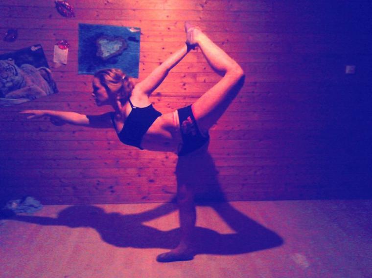 i'm gymnaste :D<3