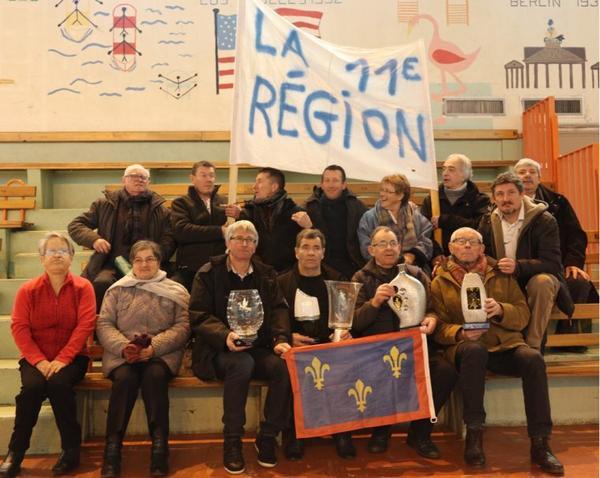 Les champions de la 11ème région à THIONVILLE.