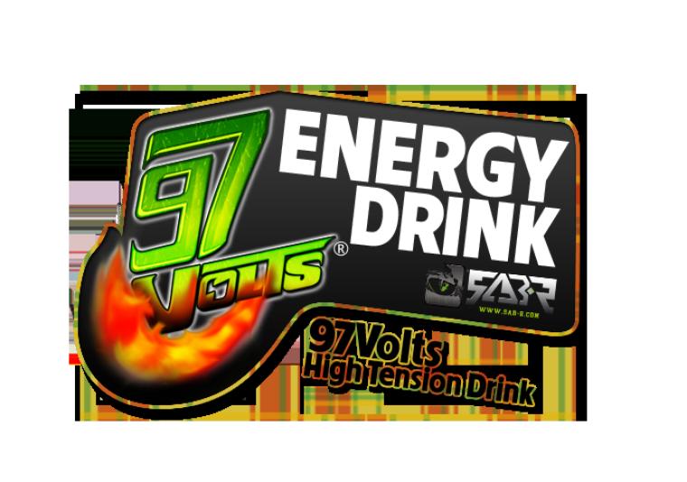 Sab-R crée le logo 97 Volts