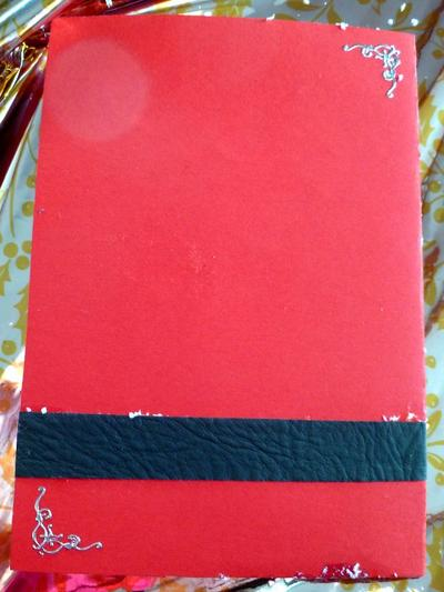 87 - Scrapbooking - Carte père Noël