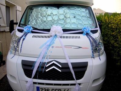 100 - Déco de mariage - véhicule camping-car pour mariage
