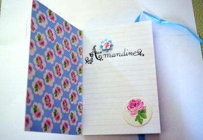 103 - Scrapbooking - Carnet à idées à faire soi même