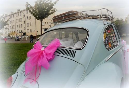 119 - déco voiture de mariés