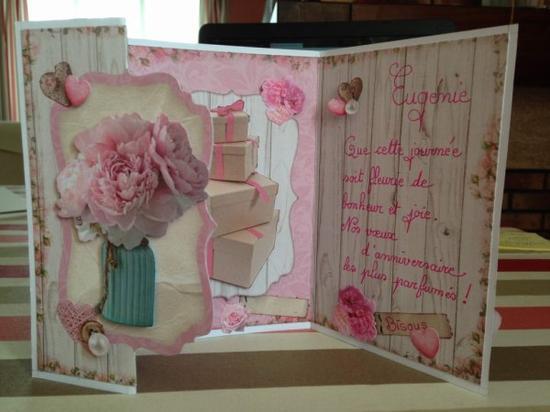 "140 - Scrapbooking - carte anniversaire ""Studio Light"" book cards"