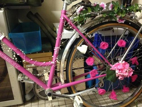 143 - Déco de mariage - Vélos