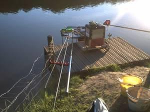 quelque pêches a l'étang de Meudon