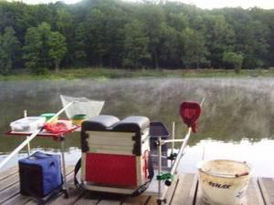 de joli pêches a l'étang de Meudon