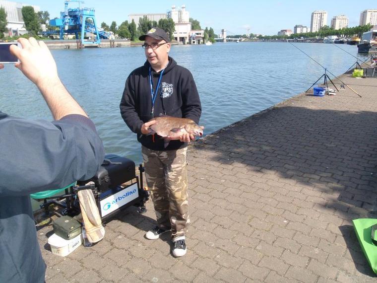 une pêche avec les copains
