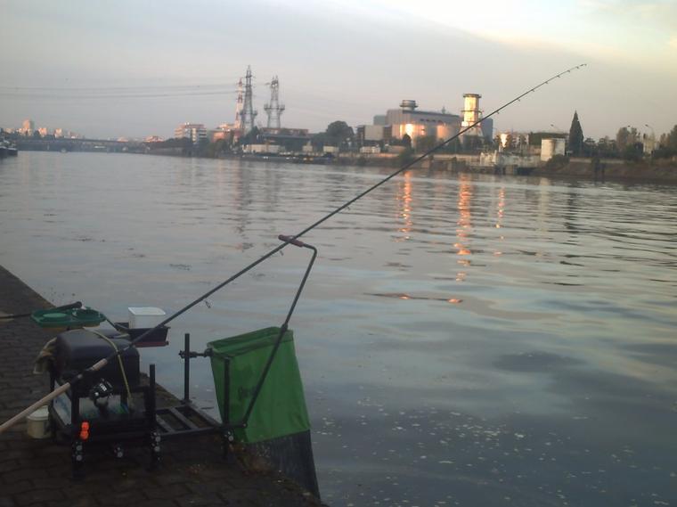 une pêche entre amis pêcheurs