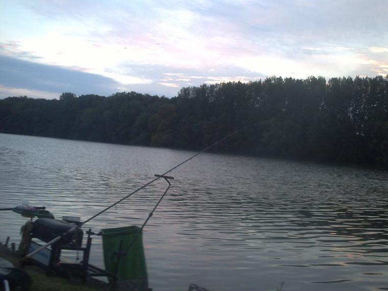 pêche de gardons