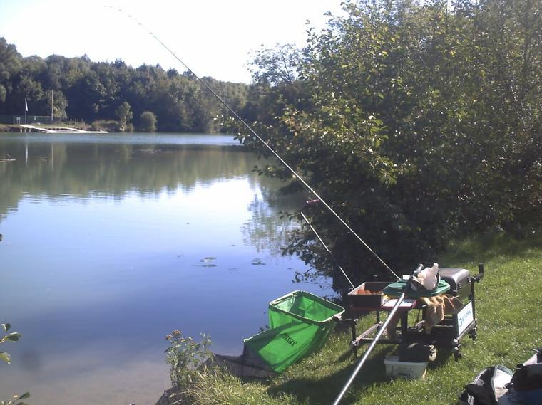 une pêche feeder sur la marne