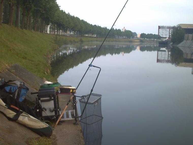 Petite pêche mais heureux