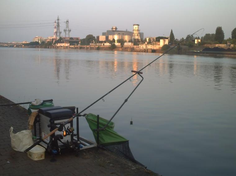 un weekend de pêche