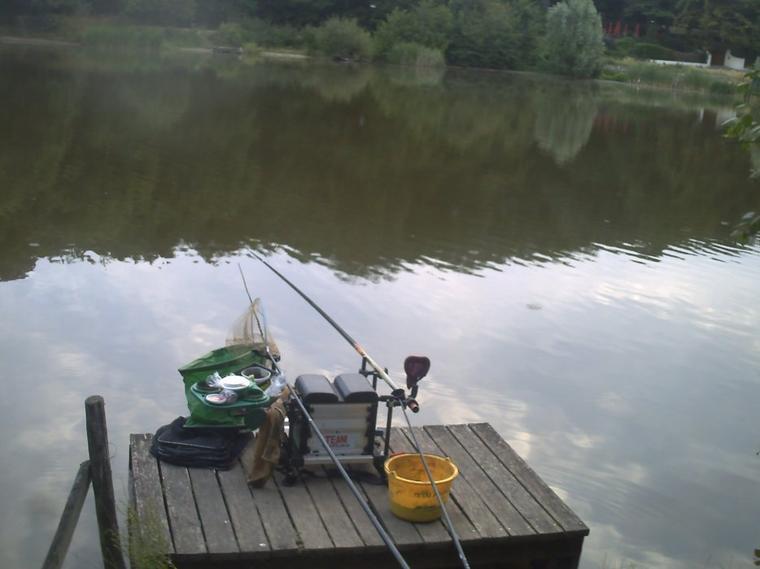 un matin a l'étang