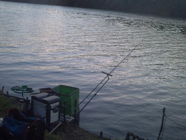 De retour et deux parti de pêche timide!!!!!!!!!