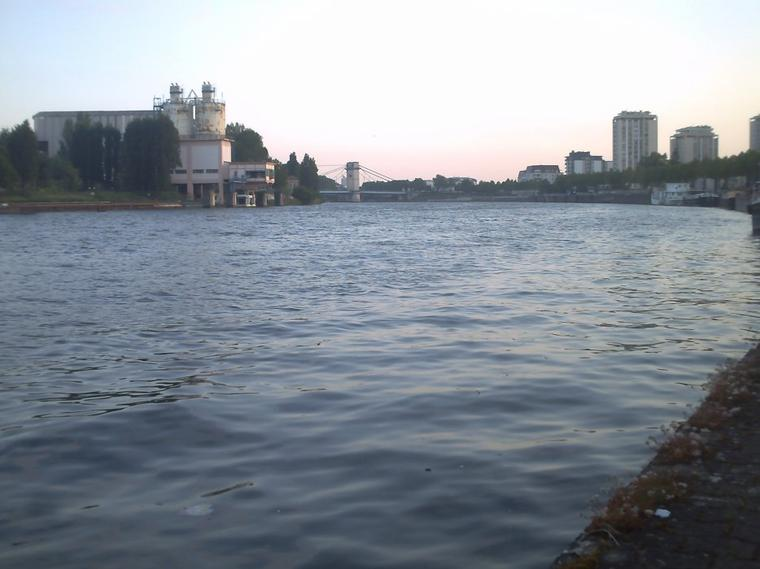 vendredi et samedi matin au bord de l'eau