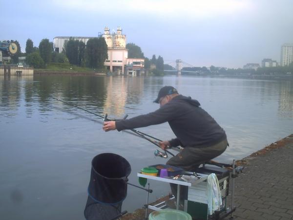 partie de pêche entre amis