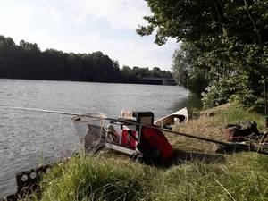 pêche en seine  a grand canne