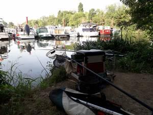 pêche au port de draveil