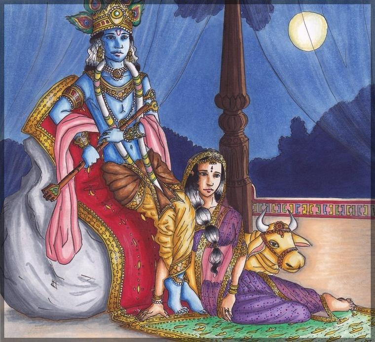 Krishna et Radha