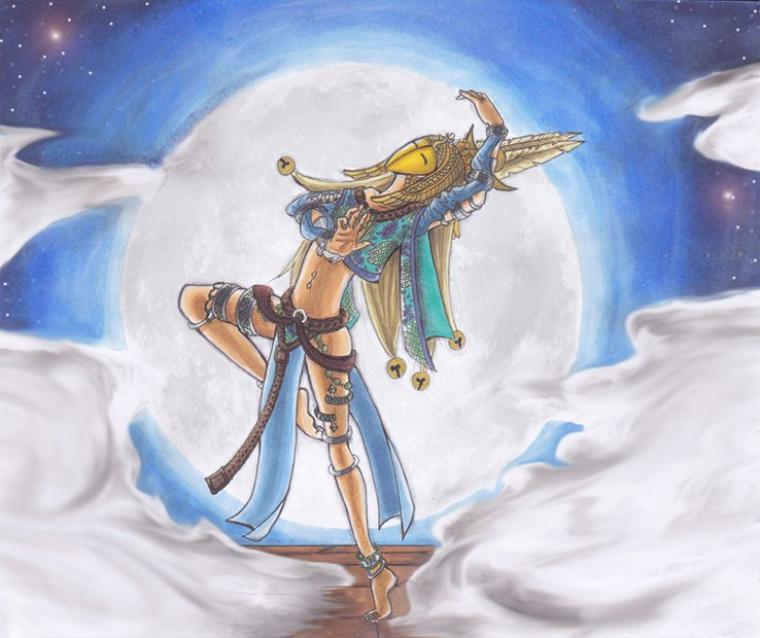 Dancer of the moon