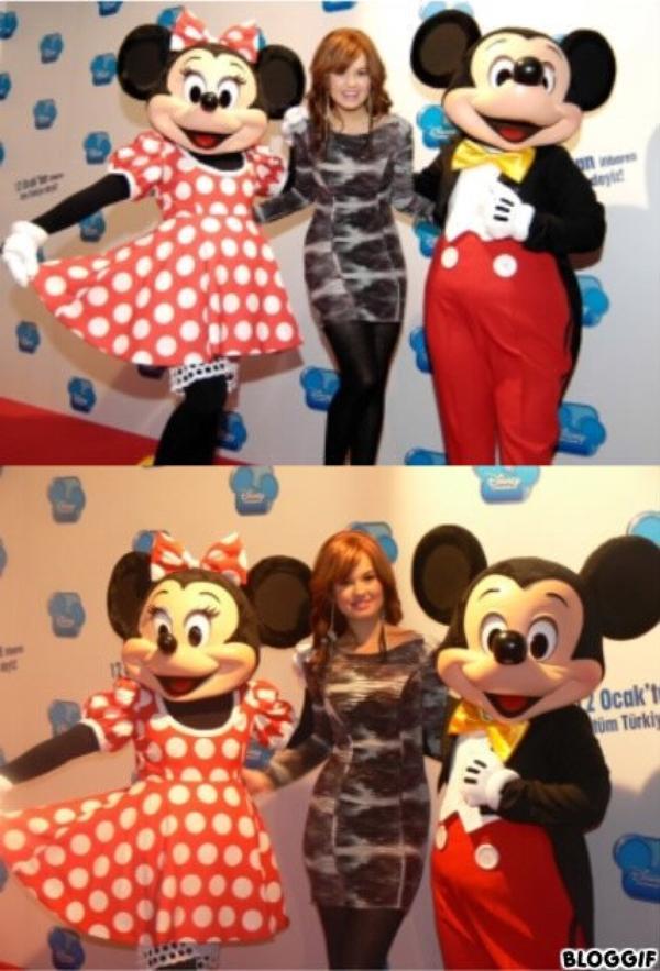 Debby au Disney Event d'Istanbul