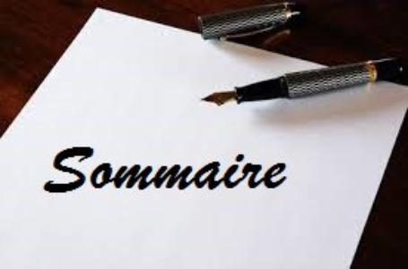 SOMMAIRE