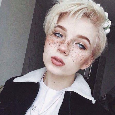 I love freckles ❤
