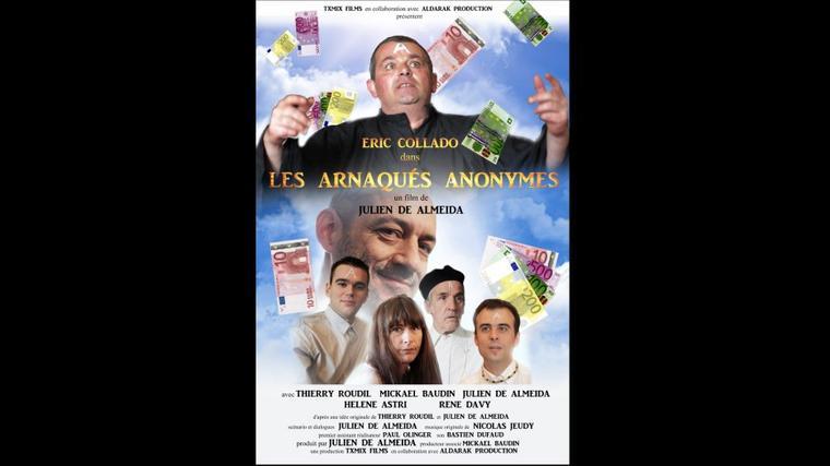 Les Arnaqués Anonymes (affiche) un film de Julien De Almeida