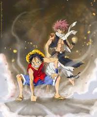 Luffy vs Natsu !!!